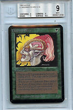 MTG Alpha Llanowar Elves Graded BGS 9.0 Mint card Magic the Gathering WOTC 2838