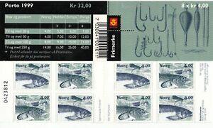 Fishing Salmon Norway Norwegen Norske Mint MNH Stamp Booklet 1999