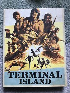 Terminal Island Blu Ray 4K UHD W Slip Vinegar Syndrome Region  Free