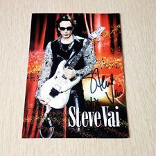 Steve Vai - Hand Signed Promo Photo