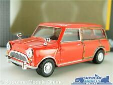 AUSTIN MORRIS MINI TRAVELLER MODEL CAR VAN RED 1:43 SCALE CLASSIC CARARAMA K8