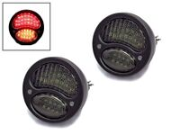 LED Stop Tail Lights & Indicators for Classic Retro Pick Up - BLACK Vintage Look