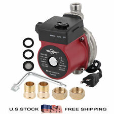 110-120V Automatic Stainless Circulator Pump 3/4'' Domestic Boost Water Pump