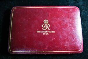 1937 English Specimen Set