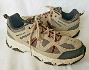 Skechers Men Relaxed Fit Crossbar Air Cooled Hiking Memory Foam Shoe 51885 Sz 13