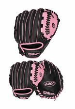 "Wilson A200 Girl's 10"" Tball Tee Ball Softball Right Hand Throw Baseball Glove"