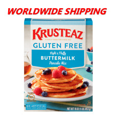 Krusteaz Gluten Free Buttermilk Pancake Mix 16 Oz WORLDWIDE SHIPPING
