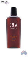 3 Pcs American Crew Classic Gray Shampoo 250ml Hair Treatment Smooth Moisturize