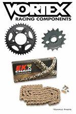HONDA CBR1000RR 2006-15 Vortex/EK 530ZVX3 X-ring Gold Chain and Sprocket Kit