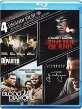 Leonardo Di Caprio Collection (4 Blu Ray) Cofanetto NUOVO