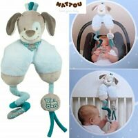 Nattou Gaston & Cyril the Dog Maxi Toy Activity Play Mobile ~Crib~Pram~Car Seat