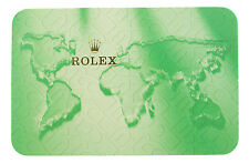 Rolex original 2002-2003 Year calendar card