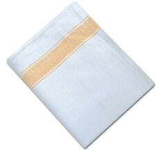 Pack of 10 Herringbone Weave Kitchen Tea Towels Absorbent Cotton Catering Cloths