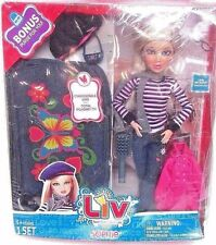 Liv Sophie Doll w Bonus Purse & Accessories Changeable Wig NEW