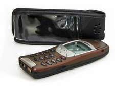 caseroxx Leather-Case with belt clip for Nokia 6210 6310 6310i in black made of