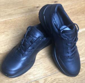 Ecco Irving Men's Lace Up Leather Shoes Black Size UK 7.5 EU41 US 8.5 RRP £149
