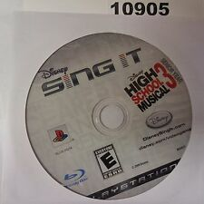 Disney Sing It: High School Musical 3 (PS3)(DISC OLNY)#1905