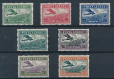 [37101] Albania 1925 Good airmail set Very Fine Mh stamps