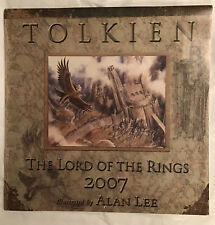 Tolkien Calendar 2007, the Lord of the Rings Illustrated by Alan Lee