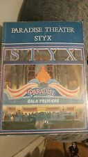 STYX - PARADISE THEATER - SONGBOOK - PIANO AND GUITAR chords rare Tommy shaw
