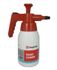 Wurth Brake Cleaner Pump Bottle / Dispenser - 1ltr