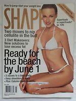 Shape Magazine May 2001 Tatiana Zavialova Cover