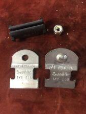 """Swagelok 1/4"""" tube OD 1/2 008 Uni-Strut Tube Strap 15-015-004"""