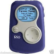 Rio S10 64MB Vintage MP3 Player (Sonic Blue Ipod) Coleccionable EE. UU. versión 1st Gen
