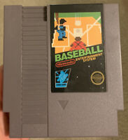 Baseball Nintendo NES ~ Game Cartridge ~ Cleaned & Tested ~ 5 Screws ~ Authentic