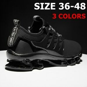 Mens Athletic Sports Running Shoes Casual Comfortable Trainers Outdoor Sneakers