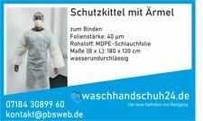 Schutzkittel mit Ärmel-Besucherkittel-MADE IN GERMANY - OP-Kleidung - Einweg -