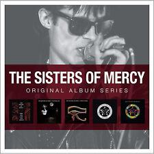 Sisters Of Mercy ORIGINAL ALBUM SERIES First Last & Always FLOODLAND New 5 CD