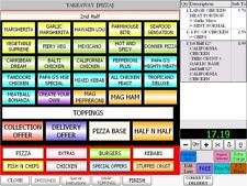 EPOS system ivision takeaway restaurant delivery software caller id  Midlands