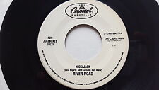 "RIVER ROAD - Nickajack / Tears to the Tide PROMO 7"" Country 1997 Jukebox"