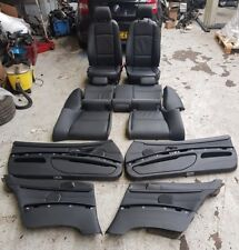 BMW 3 SERIES E92 BLACK LEATHER INTERIOR AND DOOR CARDS