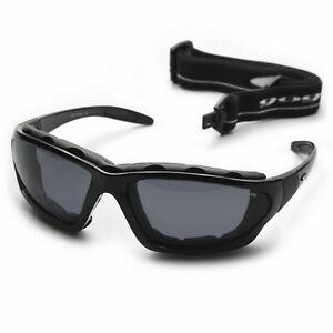 Sportbrille mit Band und Wind- Lichtschutzpolsterung polarisiert 100% UV Schutz