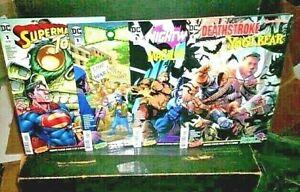 DC COMICS (4) Hanna-Barbera DEATHSTROKE Nightwing GREEN LANTERN Superman NM 9.4