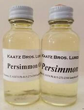 Persimmon Oil Persimmons Oils Essence Trapping Lure Ingredients Trapper Fur 2 oz