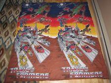 Vintage 1986 G1 TRANSFORMERS sleeping Slumber bag METROPLEX TRYPTICON RARE