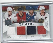 2008-09 UD The Cup Quads Jerseys Heatley, Spezza, Nash, Toews 3/10
