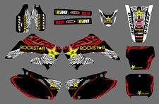 TEAM GRAPHICS DECALS FOR HONDA CR125 CR250 2002 03 04 05 06 07 08 09 10 11 12 D6