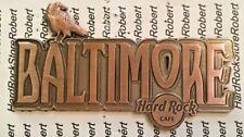 2017 HARD ROCK CAFE BALTIMORE (RAVEN)DESTINATION NAME SERIES MAGNET