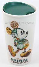 Starbucks Mickey Silhouette Animal Kingdom Travel Tumbler Coffee Mug Cup 12 Oz