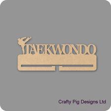 Taekwondo - Tae Kwon Do -Medal Holder - 4mm MDF Wooden Craft Blank