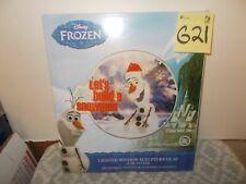 "Disney Frozen Olaf Lighted Window Sculpture 14"""