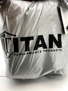 """TITAN, Lightweight All-Weather SUV Cover Compact (187""""L x 76""""W x 56""""H)OPEN BOX"""