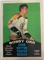 1970-71 O-Pee-Chee Bobby Orr Card #252 Boston Bruins