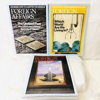 Lot of 3 2018 FOREIGN AFFAIRS Magazines Jan/Feb Jul/Aug Nov/Dec Excellent Cond!