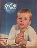 1942 McCalls December - Christmas; Faith Baldwin; Margaret Culkin Banning