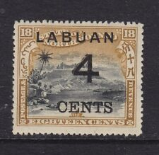 Labuan Scott # 91 Vf Og mint previously hinged scv $ 40 ! see pic !